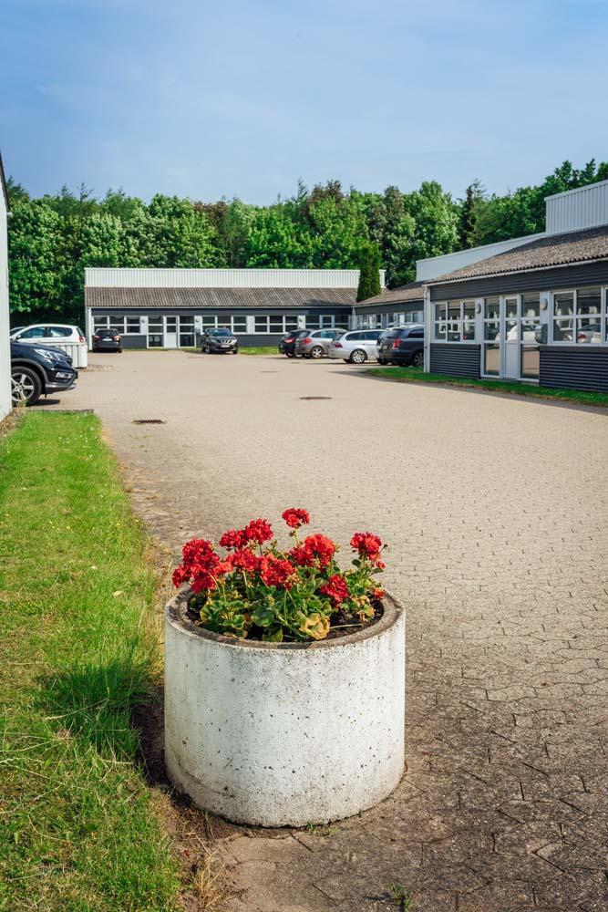 Randers_Erhvervscenter_Syd_indkørsel_udlejning_virksomhedslokaler